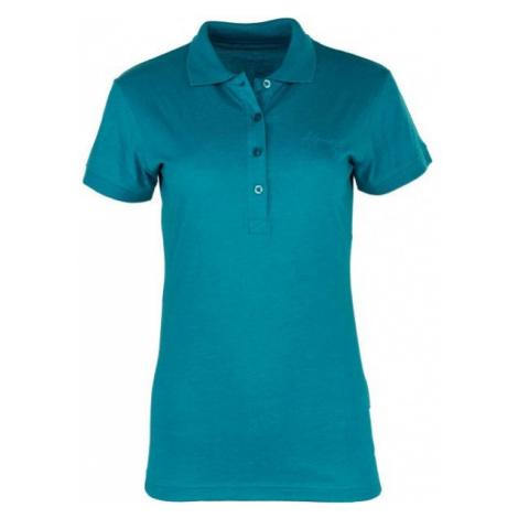 ALPINE PRO ZENDAYA zelená - Dámske polo tričko