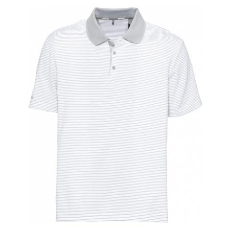 adidas Golf Funkčné tričko  biela / svetlosivá