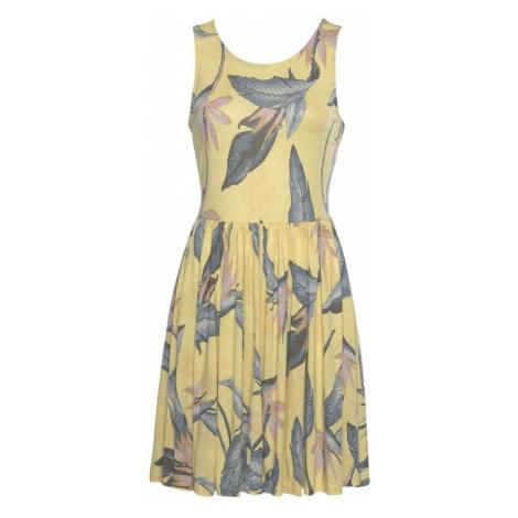 BEACH TIME Letné šaty  pastelovo ružová / citrónová / dymovo šedá / pastelovo oranžová Beachtime