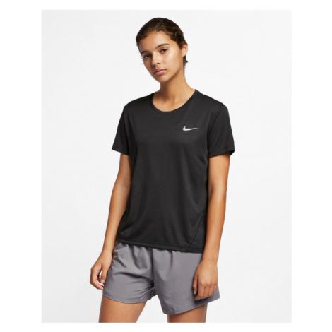 Nike Miler Tričko Čierna