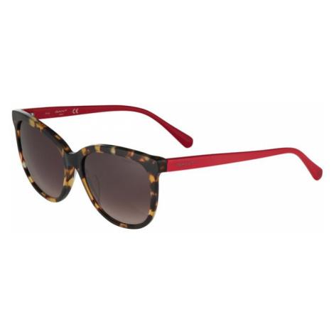 GANT Slnečné okuliare  červená / hnedá / čierna