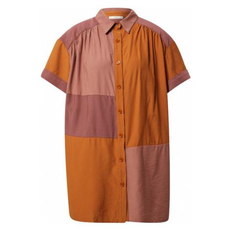 sessun Blúzka 'VOLCANO'  oranžová / rosé / staroružová Sessùn