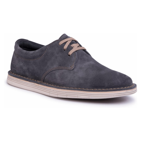 Poltopánky CLARKS - Forge Vibe 261496417 Storm Suede