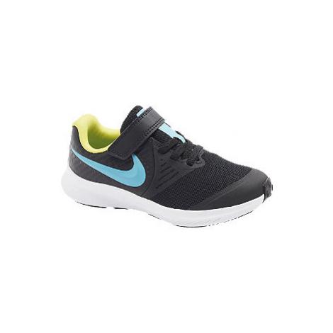 Čierne tenisky na suchý zips Nike Star Runner 2