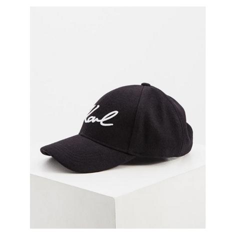 Šiltovka Karl Lagerfeld K/Signature Wool Cap