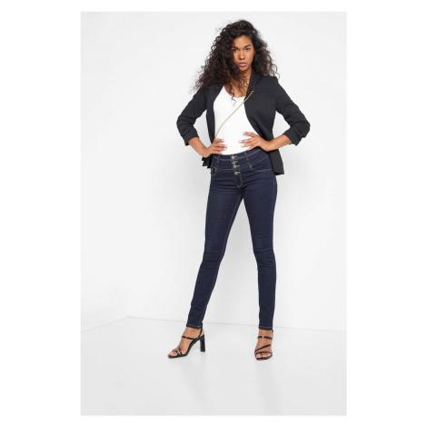 Džínsy skinny high waist Orsay