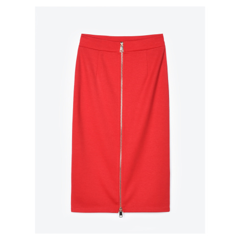 GATE Obtiahnutá sukňa so zapínaním na zips