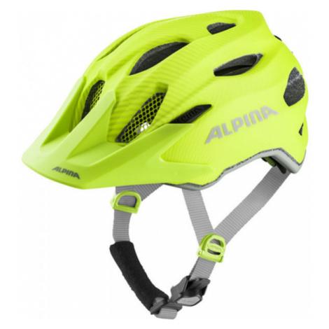 Alpina Sports CARAPAX JR FLASH žltá - Detská cyklistická prilba