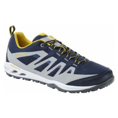 Columbia VAPOR VENT modrá - Pánska outdoorová obuv