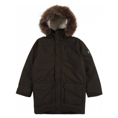 NAME IT Zimná bunda  tmavohnedá