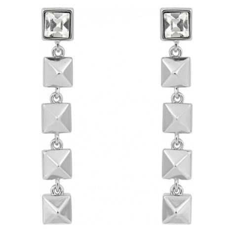 Karl Lagerfeld Luxusné náušnice Linear Pyramid