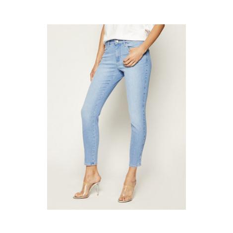 Wrangler Skinny Fit džínsy Soft W28KJG10Y Modrá Skinny Fit