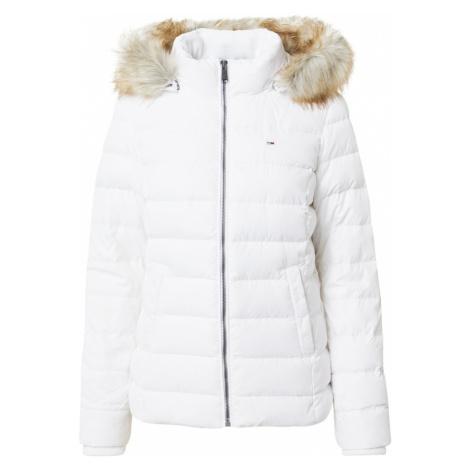 Tommy Jeans Zimná bunda  biela Tommy Hilfiger
