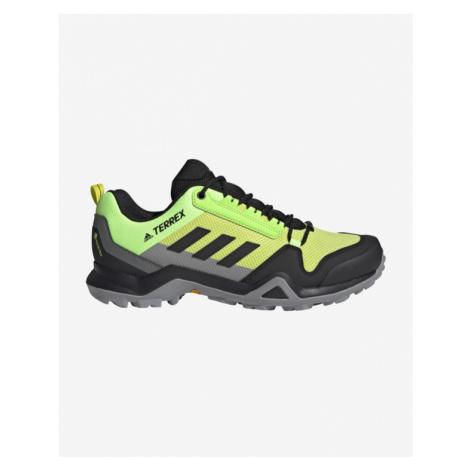 adidas Performance Terrex Ax3 GORE-TEX® Hiking Outdoor obuv Zelená Žltá