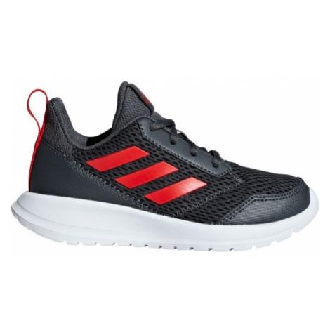 adidas ALTARUN K tmavo sivá - Detská bežecká obuv