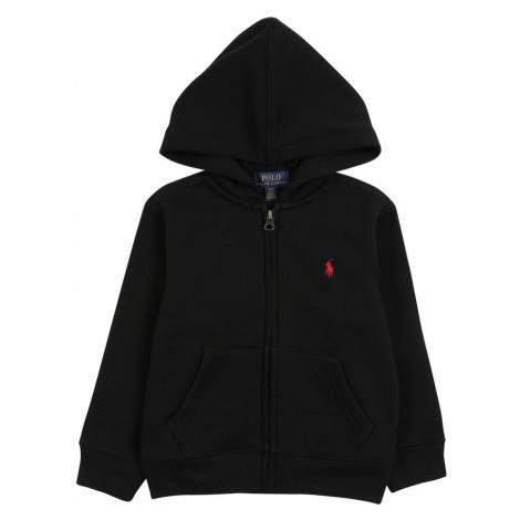Polo Ralph Lauren Tepláková bunda  čierna