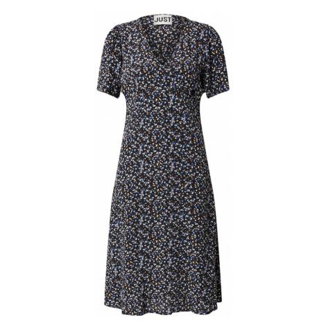 JUST FEMALE Šaty 'Lassy'  modrá / čierna