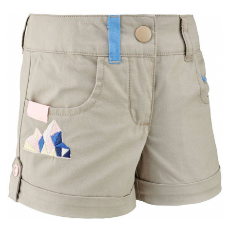 QUECHUA šortky Mh500 Kid Béžové