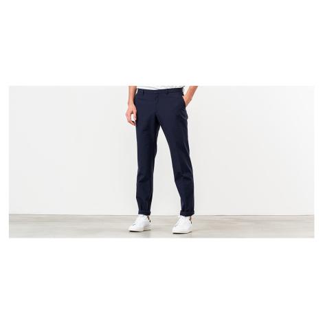 MAISON KITSUNÉ Small Check Classic Fit Pants Navy Check