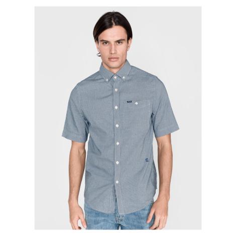 Košile G-Star RAW Modrá