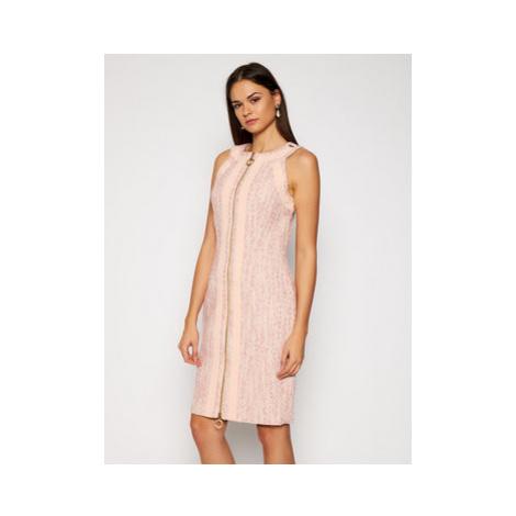 Marciano Guess Koktejlové šaty Victoria 0BG729 9367Z Ružová Slim Fit