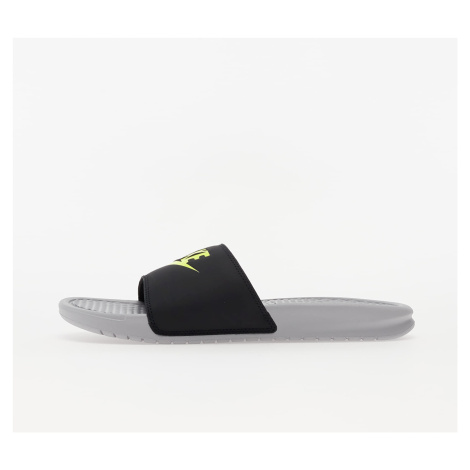Nike Benassi JDI Wolf Grey/ Volt-Black