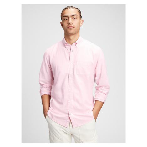 Oxford Košile GAP Růžová
