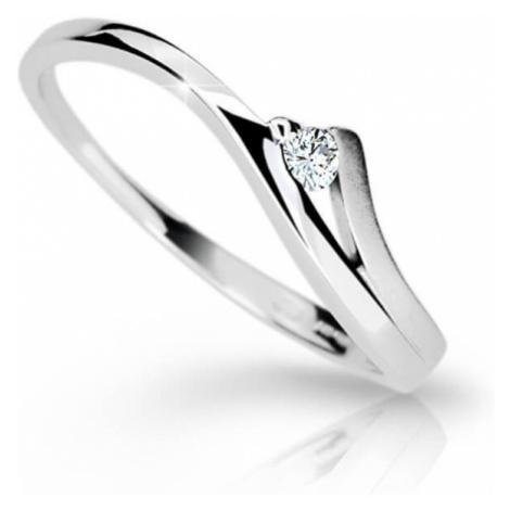 Cutie Jewellery Krásny zásnubný prsteň Z6818-1718-10-X-2 mm