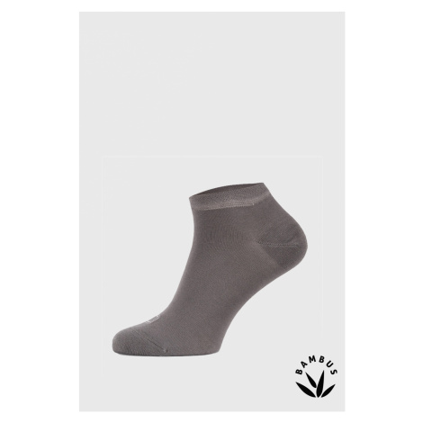Bambusové ponožky Desi svetlosivá