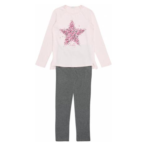 UNITED COLORS OF BENETTON Pyžamo  sivá / ružová