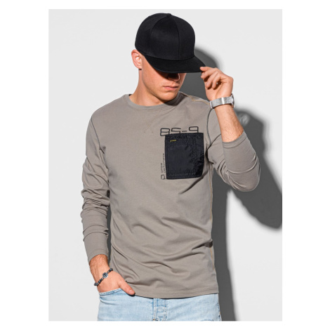 Ombre Clothing Men's printed longsleeve L130