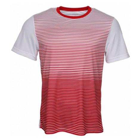 Team Striped Crew 2019 pánské triko barva: červená-bílá;velikost oblečení: XXL Wilson