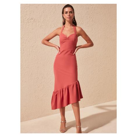 Staroružové šaty Trendyol