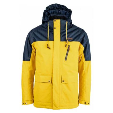 Head KUBAK žltá - Pánska zimná bunda