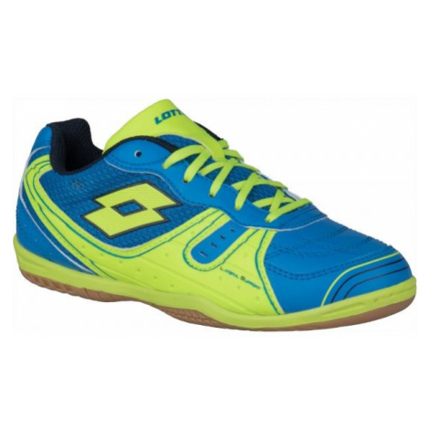 Lotto TACTO 500 III JR modrá - Chlapčenská halová obuv