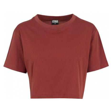 Urban Classics Tričko  krvavo červená