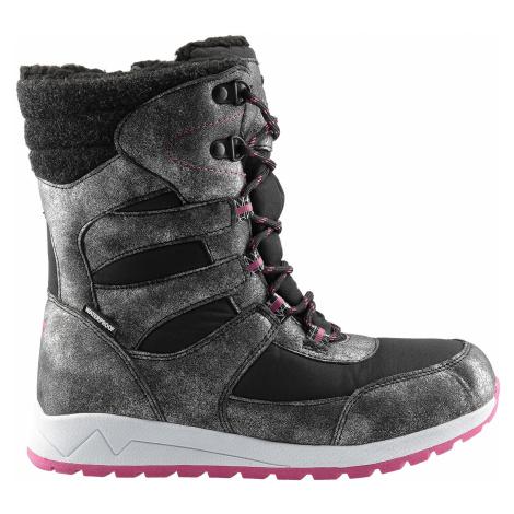 Zimné topánky pre staršie deti JOBDW404 – čierna 4F