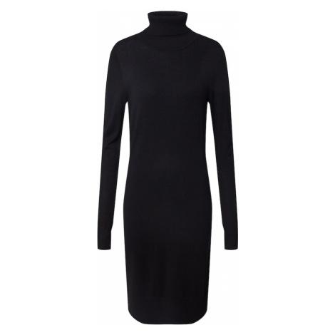 SAINT TROPEZ Pletené šaty 'U6801, MilaSZ'  čierna