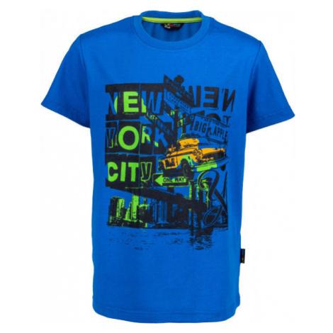 Lewro RIGBY modrá - Chlapčenské tričko
