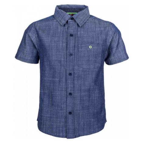 Lewro MELVIN modrá - Chlapčenská košeľa