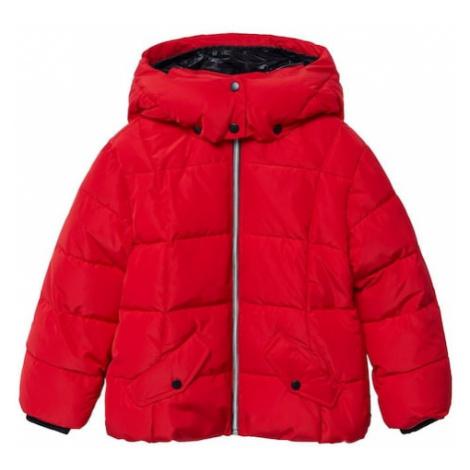 MANGO KIDS Zimná bunda 'Laurie'  červená