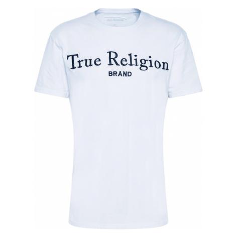 True Religion Tričko  biela / tmavomodrá