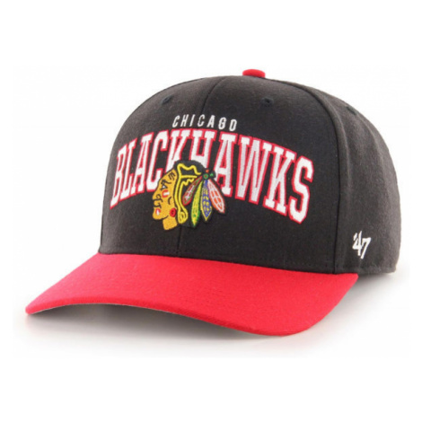 47 NHL CHICAGO BLACKHAWKS MCCAW '47 MVP DP BLK - Šiltovka