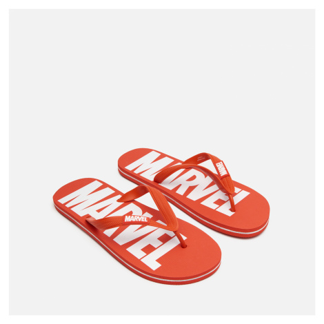 House - Plážové šľapky Marvel - Červená