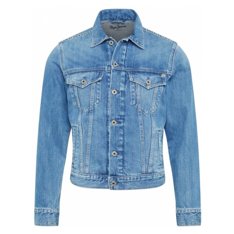 Pepe Jeans Prechodná bunda 'Pinner'  modrá denim