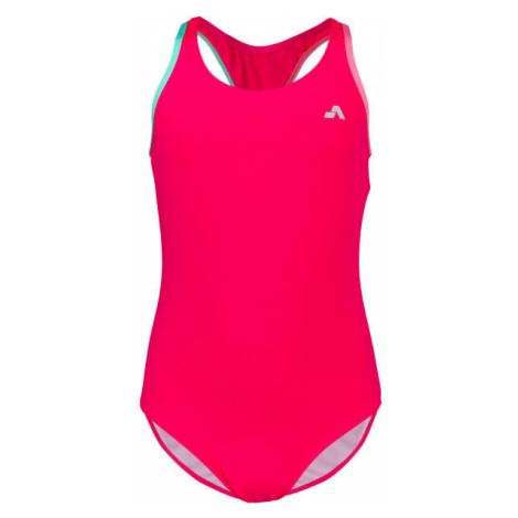 Aress MERMAID ružová - Dievčenské jednodielne plavky