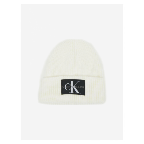 Calvin Klein biela čiapka