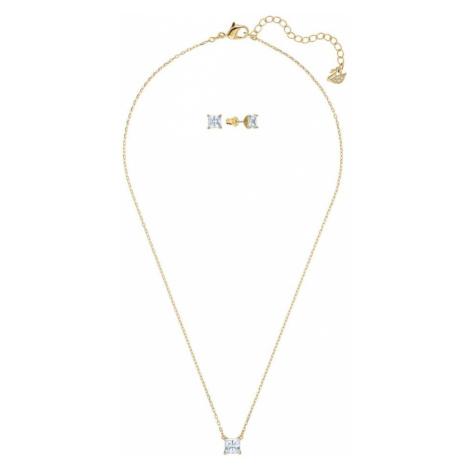 Swarovski Sada šperkov  zlatá