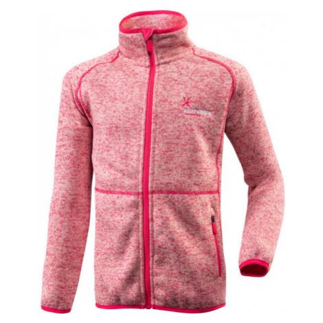 Klimatex SEM ružová - Detská funkčná mikina