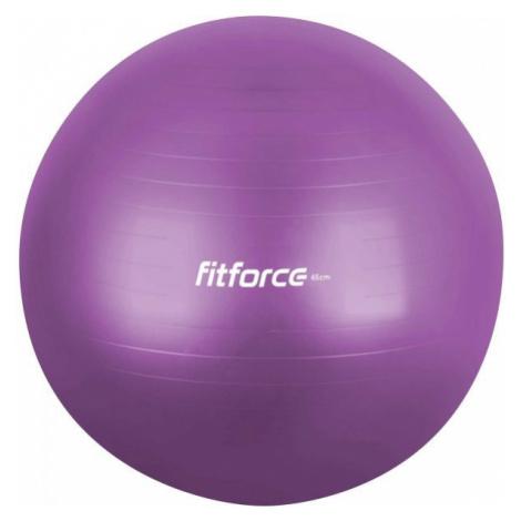 Fitforce GYM ANTI BURST fialová - Gymnastická lopta